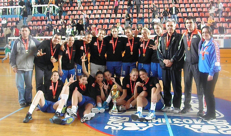ŽKK Radivoj Korać U19, prvaci države 2012.