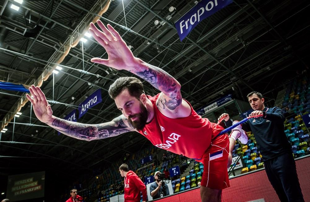 Miroslav Raduljica – pred utakmicu